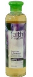 Faith In Nature Levendula és Geránium Tusfürdő
