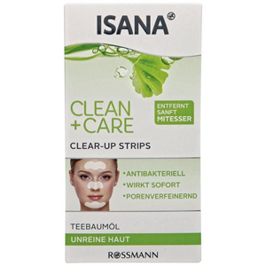 Isana Clean + Care Clear-Up Strips