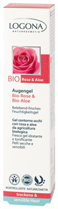 Logona Szemkörnyékápoló Bio Rózsa & Aloe Kivonattal