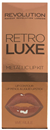 MakeUp Revolution Retro Luxe Metallic Lip Kit