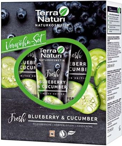 Terra Naturi Fresh Blueberry & Cucumber Testápoló