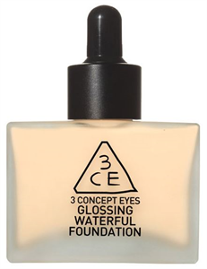 3 Concept Eyes Glossing Waterful Foundation SPF15 / PA+