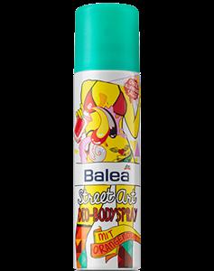 Balea Street Art Deo-Bodyspray Mit Orangenduft