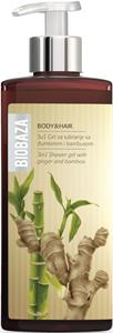 Biobaza 3 az 1-ben Tusfürdő Gél - Gyömbér és Bambusz