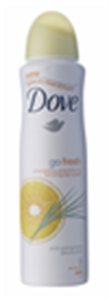 Dove Go Fresh Energising Dezodor Grapefruit és Citromfű