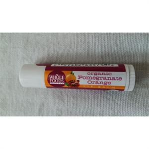 Whole Foods Market Organic Pomegranate Lip Balm