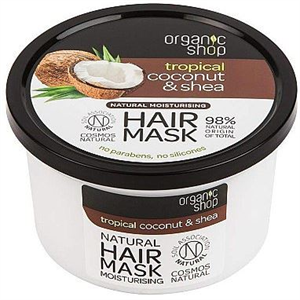Organic Shop Natural Coconut Shea Intenzív Hajmaszk