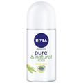 Nivea Pure & Natural Action Golyós Deo Jasmine Scent