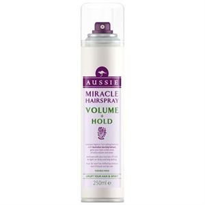 aussie Miracle Hairspray Volume + Hold Hajlakk