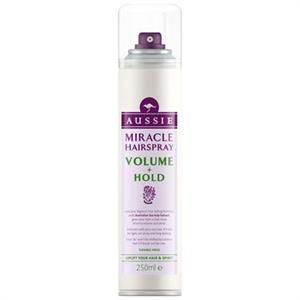 aussie Miracle Hairspray Volume + Hold Hajlakk