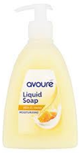 Avouré Milk & Honey Folyékony Szappan