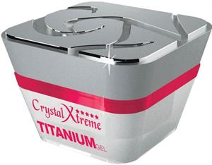 Crystal Nails Xtreme Titanium Gel