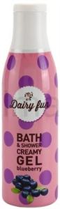 Dairy Fun Áfonyás Fürdő és Tusoló Gél