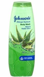 Johnson's African Nurture Aloe&Water Mint Tusfürdő