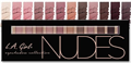 L.A. Girl Beauty Brick Eyeshadow Collection - Nudes