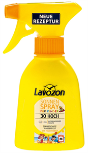 Lavozon Sonnen Spray für Kinder SPF30
