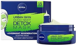 Nivea Urban Skin Good Night Detox Éjszakai Arcmaszk