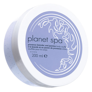 Avon Planet Spa Lavender and Jasmine Body Soufflé