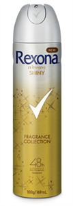 Rexona Women Shiny Deo Spray