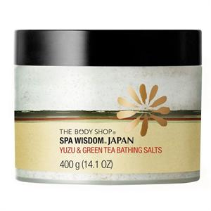 The Body Shop Japán Yuzu és Zöldtea Fürdősó