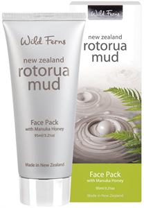 Wild Ferns Rotorua Iszap Arcpakolás Manuka Mézzel