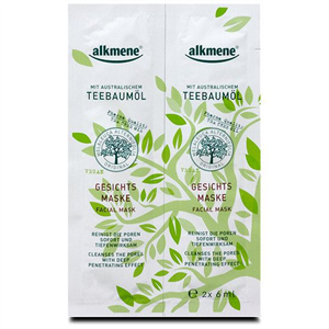 Alkemene Teebaumöl Gesichts Maske