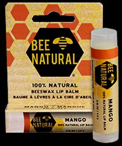 Bee Natural Mango Lip Balm