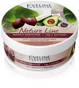 Eveline Nature Line Ápoló Krém Kakaóvajjal és Avokádóolajjal