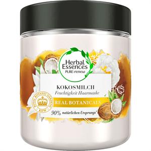 Herbal Essences Pure Hidratáló Hajmaszk Kókusztejjel
