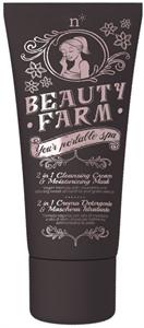 Neve Cosmetics Beauty Farm 2 az1-ben Lemosóés Hidratáló Maszk