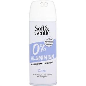 Soft & Gentle Alumíniummentes Izzadásgátló Spray Ápoló