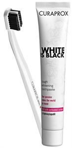 Curaprox White Is Black Fogkrém