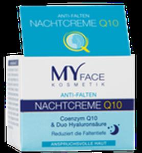 My Face Anti-Falten Nachtcreme Q10