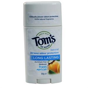 Tom's Of Maine Natural Long-Lasting Deodorant - Fresh Apricot
