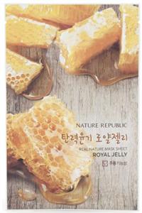Nature Republic Real Nature Mask Sheet - Royal Jelly