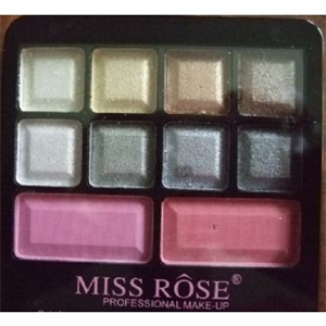 Miss Rose Shine 23-Color Eye Shadow & 2-Color Blusher