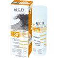 Eco Cosmetics Surf & Fun Extra Napvédő Krém Színezett FF50+