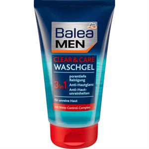 Balea Men Clean & Care 3in1 Arctisztító Gél