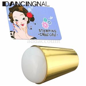 eBay Nail Art Stamper Marshmallow Round Stamp Stamping Scraper Tool