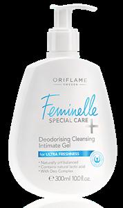 Oriflame Feminelle Special Care+ Dezodoráló Tisztító Intimzselé