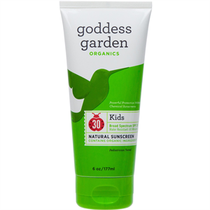 Goddess Garden Organics Kids Natural Sunscreen Lotion SPF30