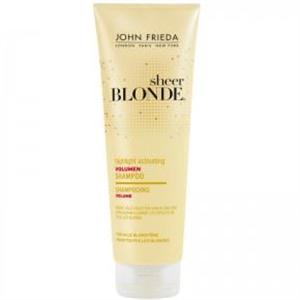 John Frieda Sheer Blonde Highlight Activating Volumen Shampoo