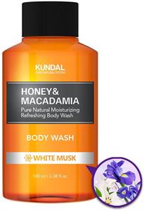 Kundal Honey&Macadamia Fehér Pézsma Tusfürdő