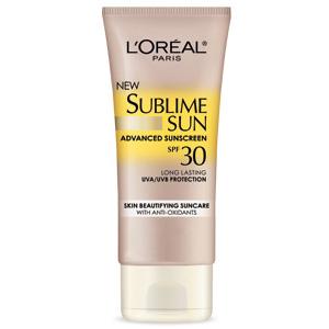 L'Oreal Sublime Sun Advanced Sunscreen SPF30