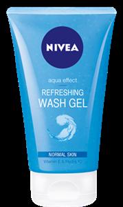 Nivea Aqua Effect Refreshing Wash Gel