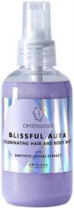 Oriflame Crystologie Blissful Aura Csillámló Haj- és Testpermet