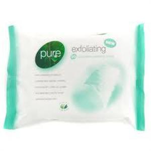 Pure Exfoliating Arctisztító Törlőkendők