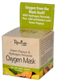 Reviva Green Papaya & Hydrogen Perxide Oxigen Mask