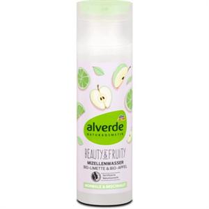 Alverde Beauty&Fruity Micellás Arctisztító Víz, Bio Lime és Bio Alma