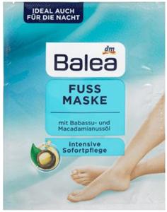 Balea Intenzíven Ápoló Lábmaszk Babasszu- és Makadámdió Olajjal
